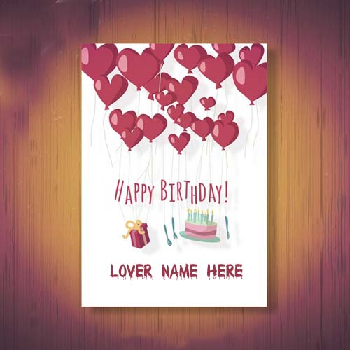 Online create happy birthday wishes cards for lover bookmarktalkfo Images