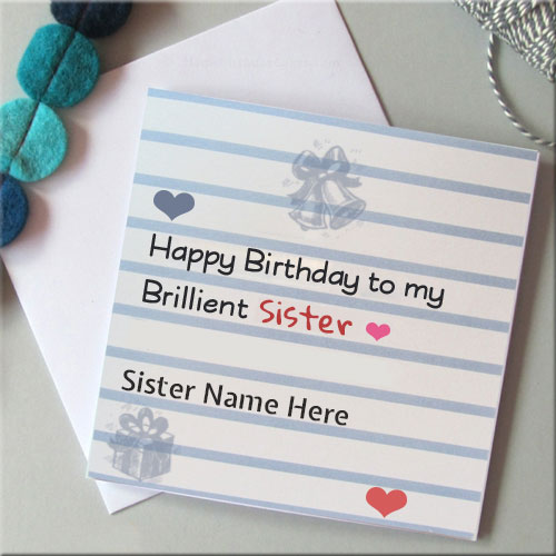 What To Write In A Card Sister Birthday Messages