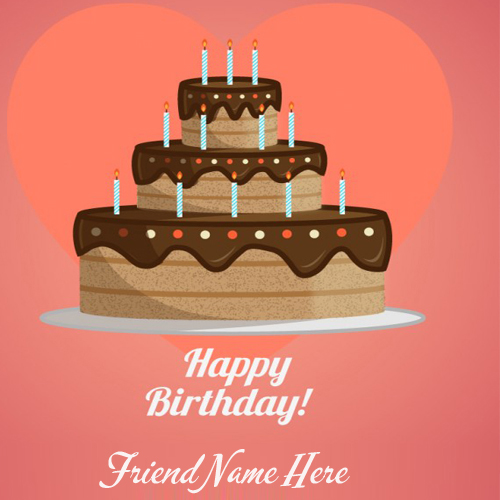 Cupcake Birthday Wish Card With Name You Complete Me Lovely Heart Your Love