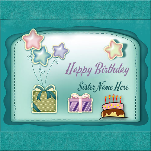 Create Girl Name On Beautiful Pink Birthday Cake Picture